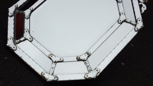 Mirrors, Trumeau  - Mercury-tin mirror circa 1820/50