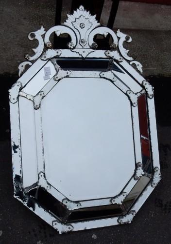 Mercury-tin mirror circa 1820/50  - Napoléon III