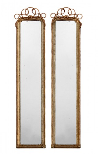 Pair of Mercury Mirrors circa 1850/80