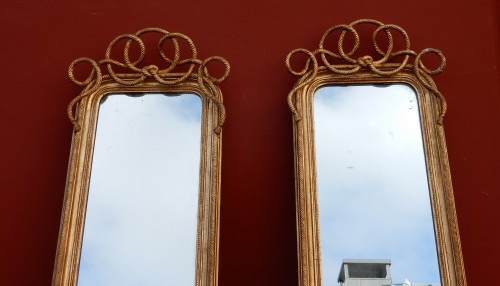 Mirrors, Trumeau  - Pair of Mercury Mirrors circa 1850/80