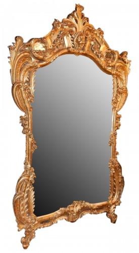 Giltwood mirror circa 1850