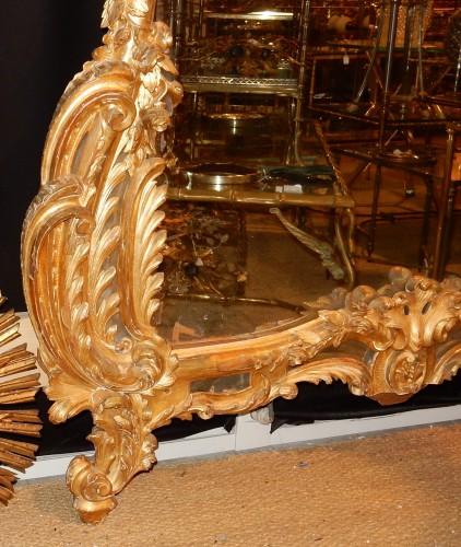 Giltwood mirror circa 1850 - Mirrors, Trumeau Style Napoléon III