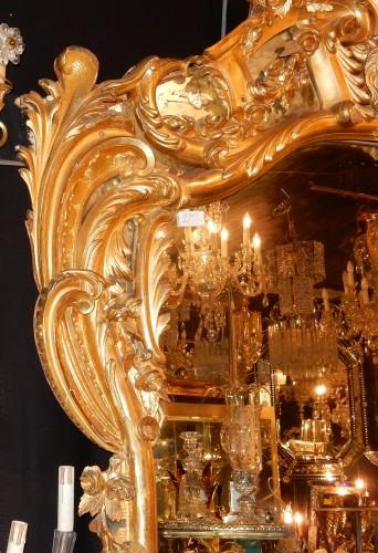 Giltwood mirror circa 1850 -