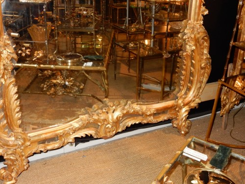 19th century - Giltwood mirror circa 1850