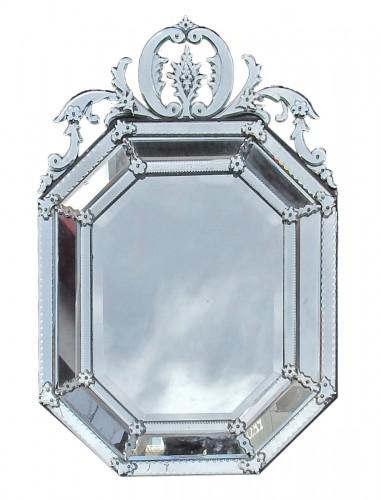 Tain silver mirror circa 1880/1900