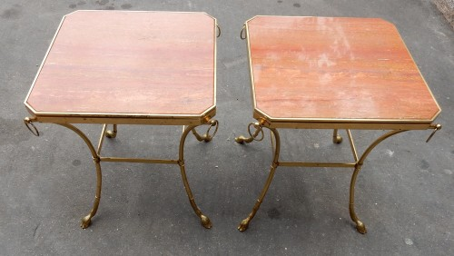 1970 'Pair of Octagonal Pedestals Jacques Charpentier - 50