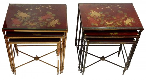 Pair  of 3 Nesting Tables