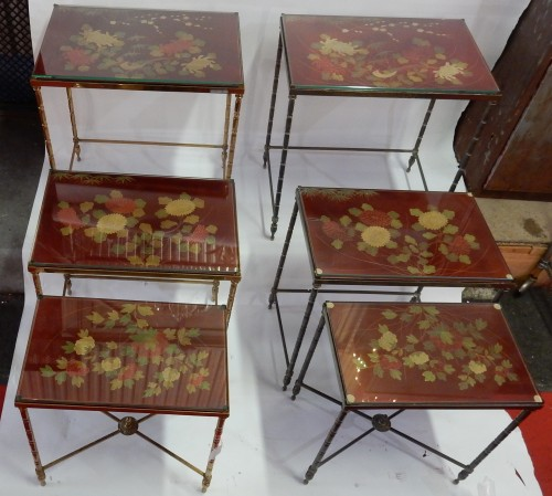 Furniture  - Pair  of 3 Nesting Tables