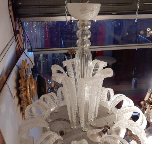 Crystal chandelier by Barovier y Toso - Lighting Style 50