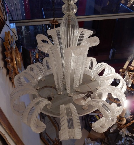 Lighting  - Crystal chandelier of Murano - Barovier y Toso