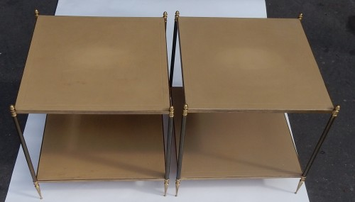 Pair of Sofa Side End Tables  Maison Jansen - Furniture Style 50