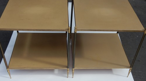 Furniture  - Pair of Sofa Side End Tables  Maison Jansen