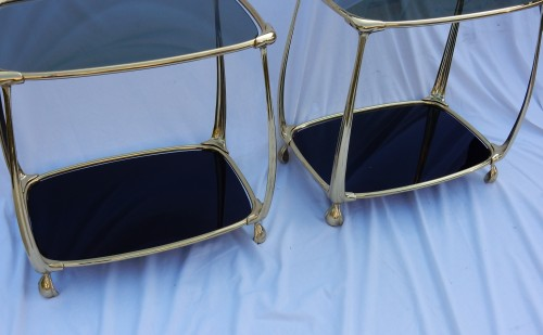 Furniture  - Pair of Gilt bronze Tables