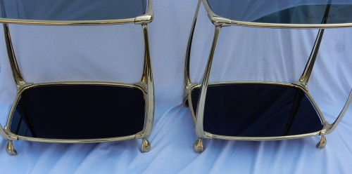 Pair of Gilt bronze Tables -