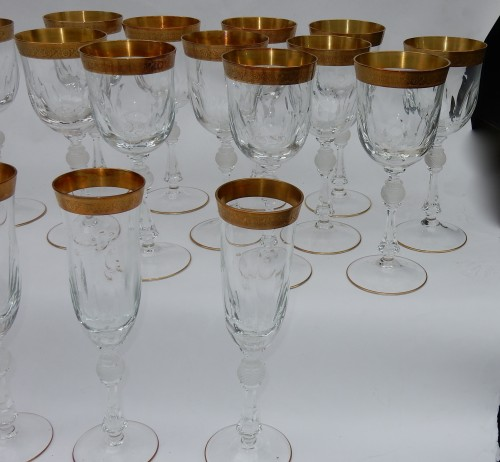 1950 'Crystal Serveware From MOSER  31 Piéces - 50