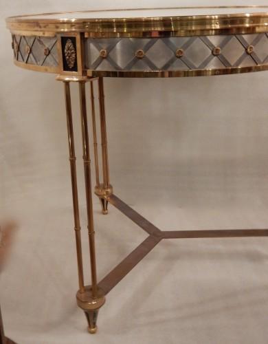 1950/70? Pedestal Table Maison Jansen Or Maison Charles - Furniture Style 50