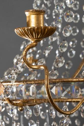 Louis XVI - 18th century Italian chandelier