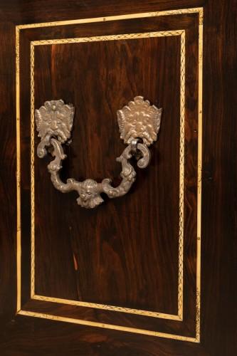 17th century - Cabint en palissandre et ivoire , Italie 17ème siècle