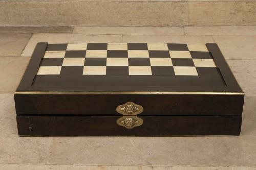 End 17th century  backgammon  - Curiosities Style