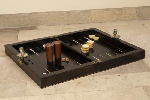 Curiosities  - End 17th century  backgammon