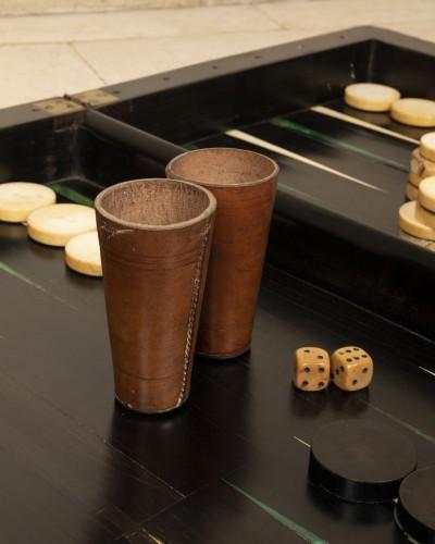 End 17th century  backgammon  -