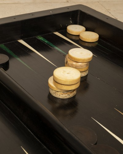 - End 17th century  backgammon