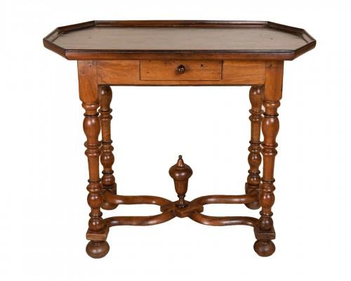 17th century walnut table