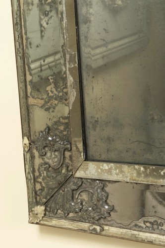 Early 18th century venitian mirror  - Mirrors, Trumeau Style