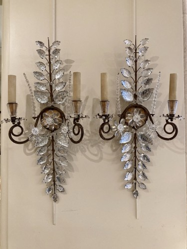 Pair of Maison Bagues sconces