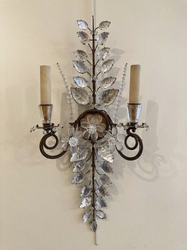 Pair of Maison Bagues sconces - Lighting Style 50