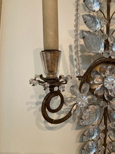 20th century - Pair of Maison Bagues sconces