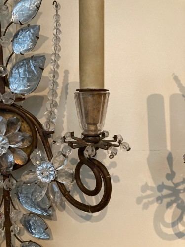 Pair of Maison Bagues sconces - 50