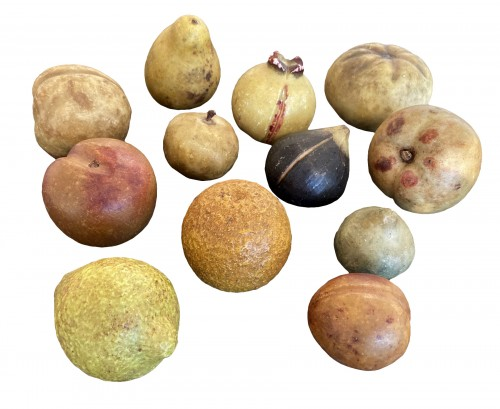 Marble fruits