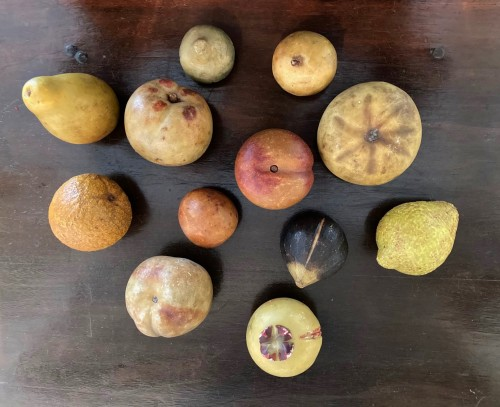18th century - Marble fruits