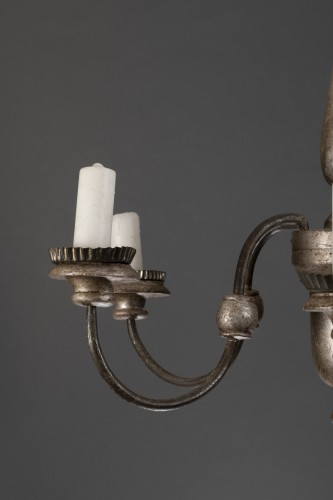 pair of 18th century chandeliers -