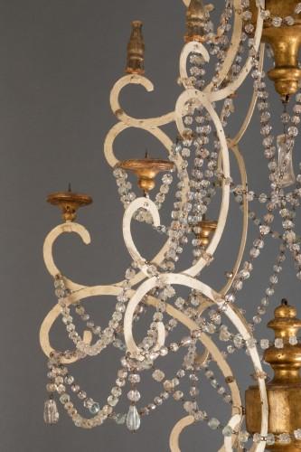 Early 19th century italian chandelier -