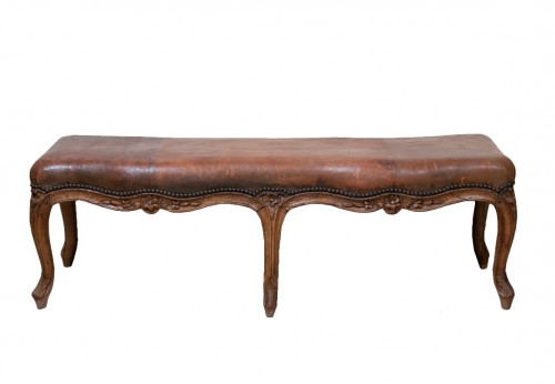 French 18th century bench