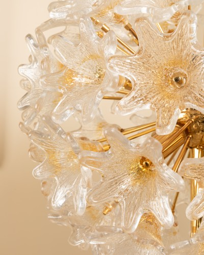 1960's Venini - Murano flower floor lamp - Lighting Style 50