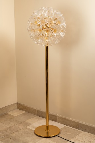 20th century - 1960's Venini - Murano flower floor lamp