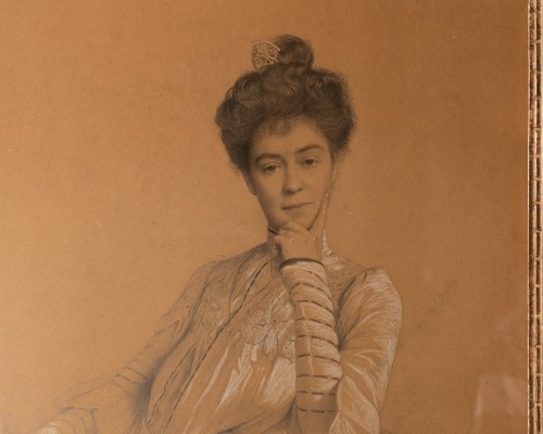 Paintings & Drawings  - Coraboeuf (1870- 1947), Portrait Of Seated Woman