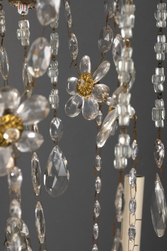 18th century - 18th century Italian eight-light chandelier