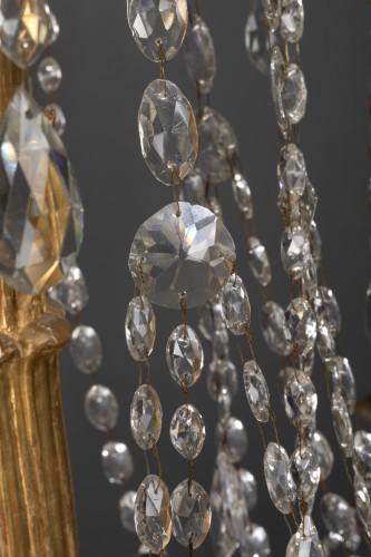 18th century Italian eight-light chandelier - Louis XVI