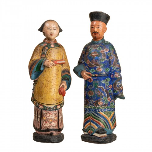 118th century Chinese magots