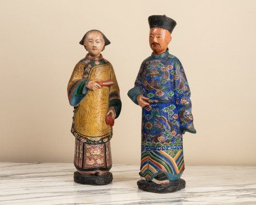 118th century Chinese magots - Asian Works of Art Style