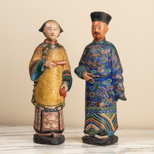 Asian Works of Art  - 118th century Chinese magots