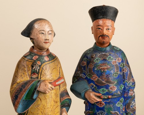 118th century Chinese magots -