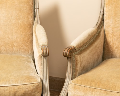Pair of french bergères - Seating Style