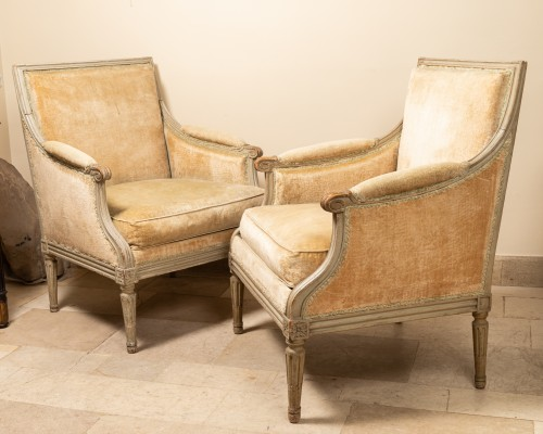 Seating  - Pair of french bergères