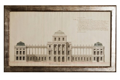 18th century architectural drawing
