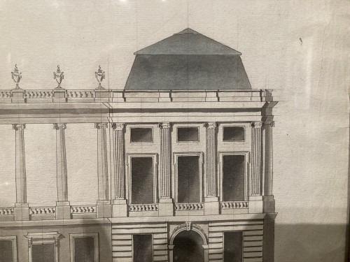 Paintings & Drawings  - 18th century architectural drawing